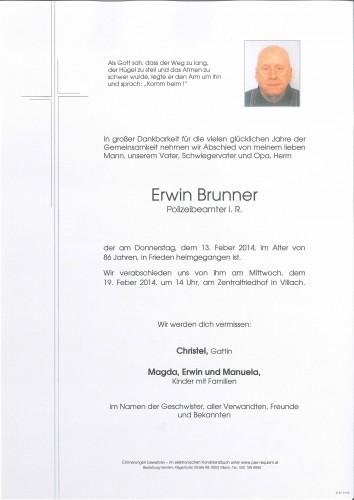 Erwin Brunner