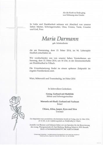 Maria Darmann