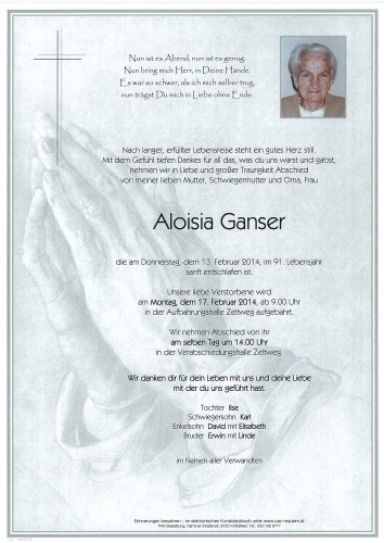 Aloisia Ganser