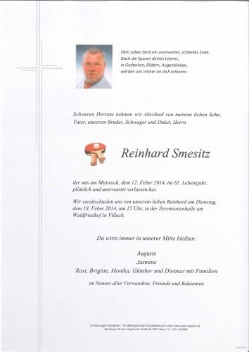 Reinhard Smesitz