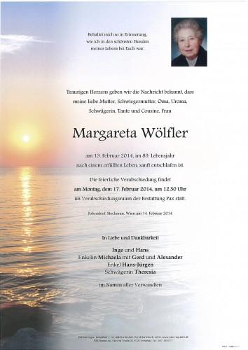 Margareta Wölfler