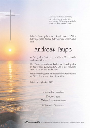 Andreas Taupe