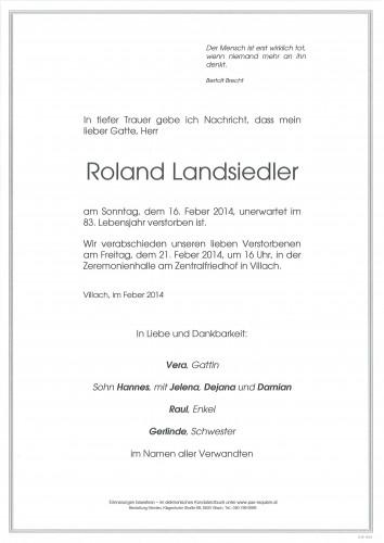 Roland Landsiedler