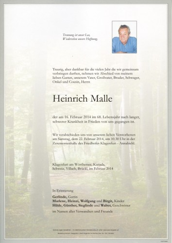 Heinrich Malle