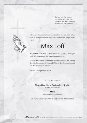 Max Toff