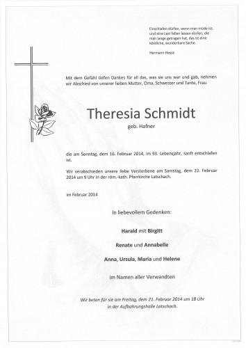 Theresia Schmidt