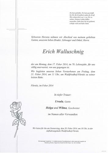 Erich Walluschnig