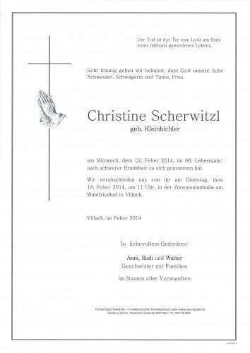 Christine Scherwitzl