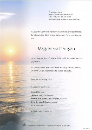Magdalena Pfabigan