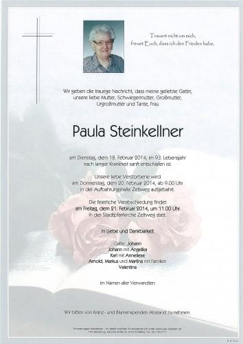 Paula Steinkellner