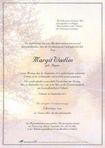 Margit Wadlin
