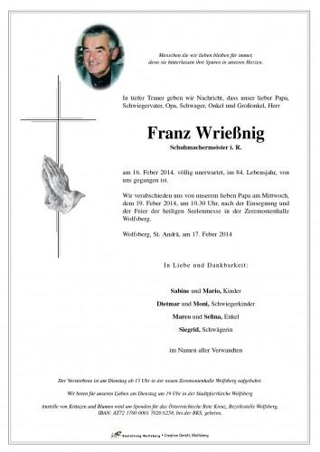 Franz Wrießnig