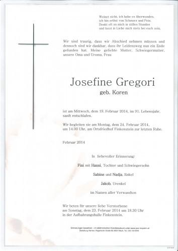 Josefine Gregori