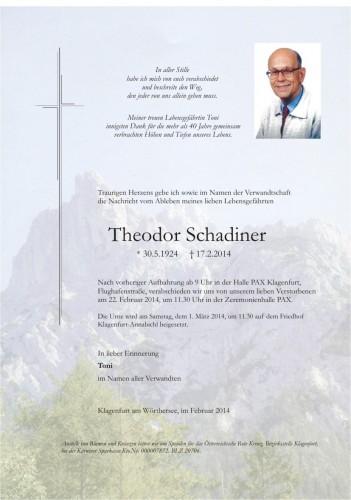Theodor Schadiner