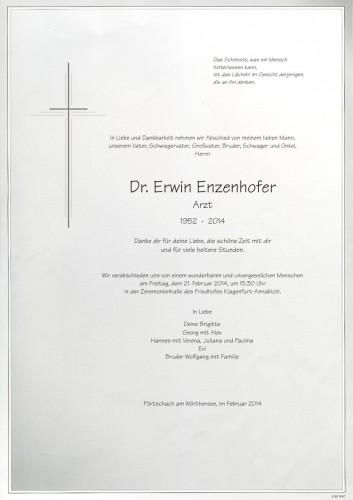 Dr. Erwin Enzenhofer