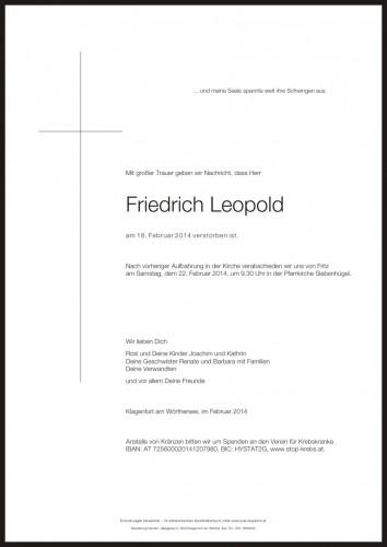 Friedrich Josef Leopold