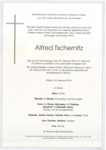 Alfred Tschernitz