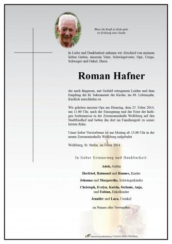 Roman Hafner