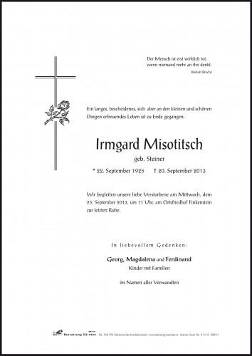 Irmgard Misotitsch
