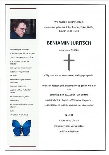 Benjamin Juritsch