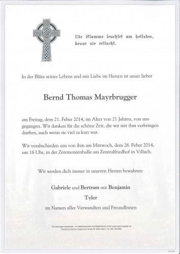 Bernd Thomas Mayrbrugger
