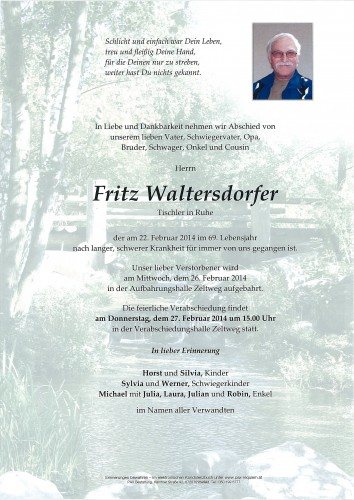 Fritz Waltersdorfer