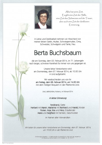 Berta Buchsbaum
