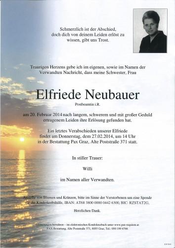 Elfriede Neubauer