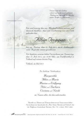Albin Troppan
