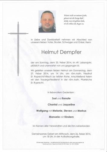 Helmut Dempfer