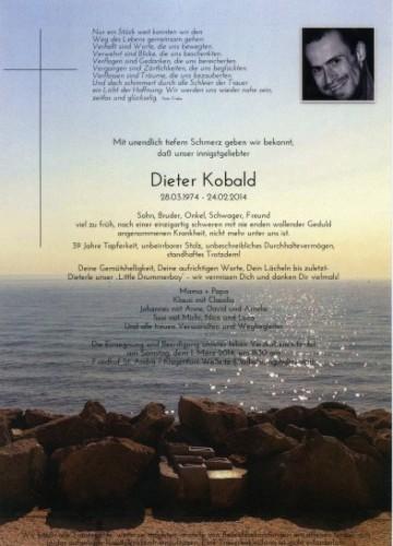 Dieter Kobald