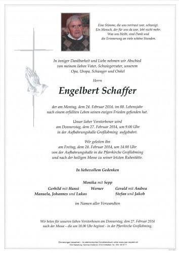 Engelbert Schaffer