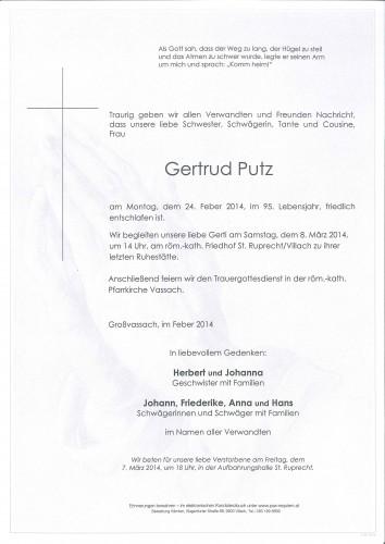 Gertrud Putz