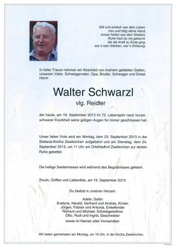 Walter Schwarzl