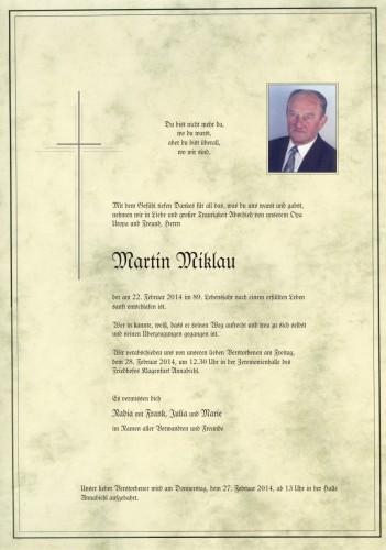 Martin Miklau