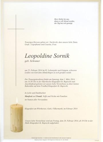 Leopoldine Sornik