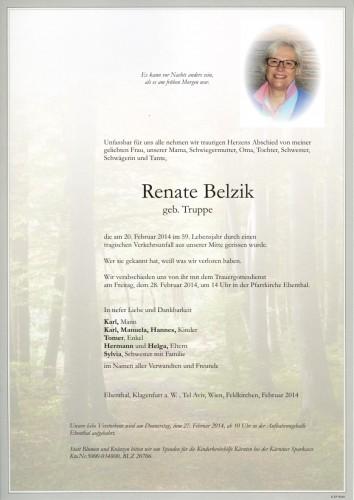 Renate Belzik