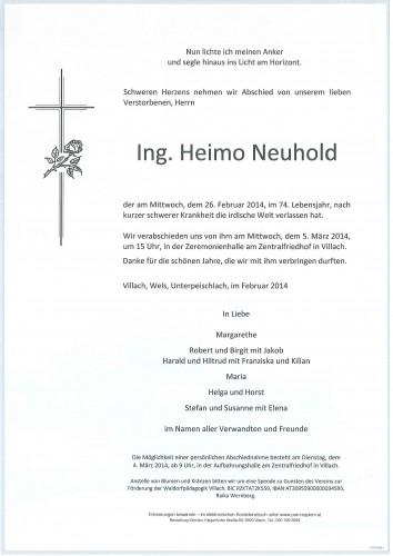 Ing. Heimo Neuhold