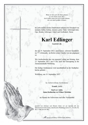Karl Edlinger