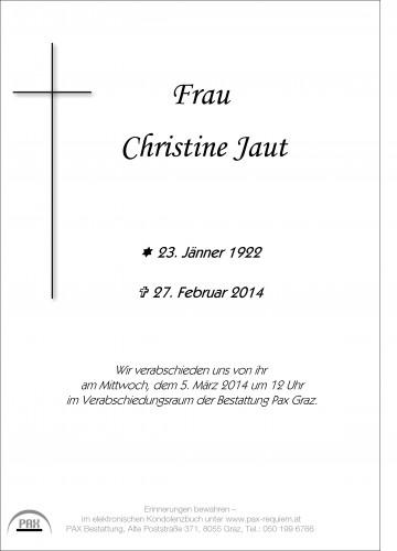 Christine Jaut