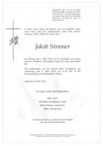 Jakob Stramer