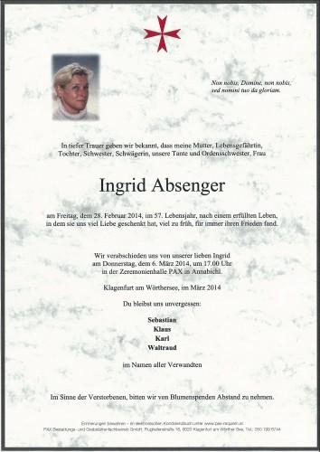 Ingrid Absenger