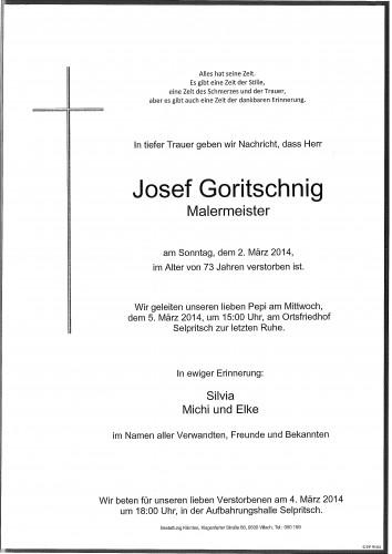 Josef Goritschnig
