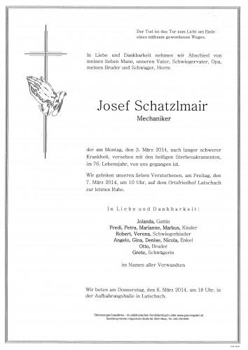 Josef Schatzlmair