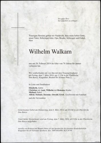 Wilhelm Walkam