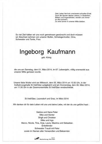 Ingeborg Kaufmann