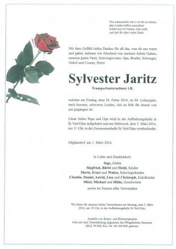 Sylvester Jaritz