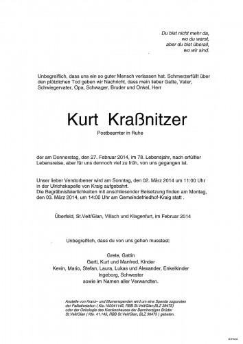 Kurt Kraßnitzer