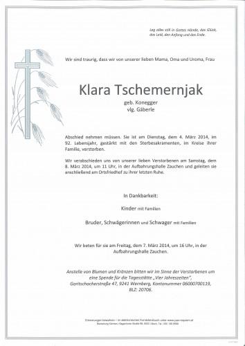 Klara Tschemernjak