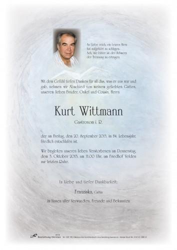 Kurt Wittmann